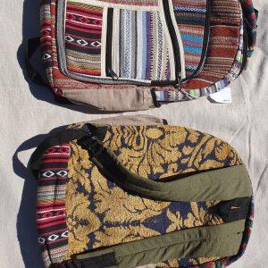 Himalayan Back Packs - Patchwork Gheri Cotton