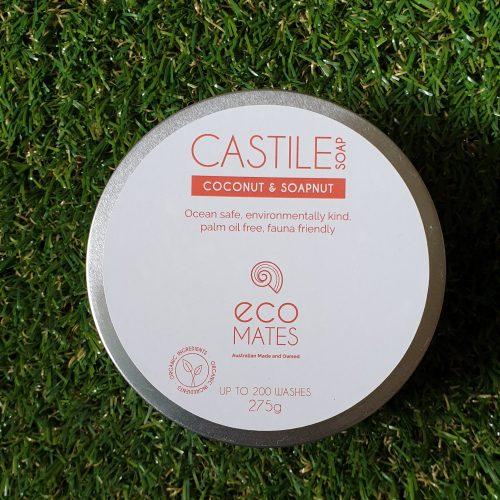 Castile Laundry Soap - Soap Nut & Coconut 275g