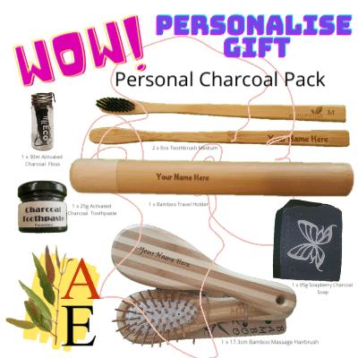 Personalised Bathroom Pack - Charcoal