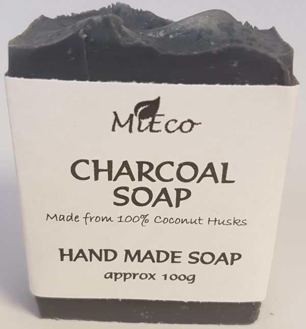 HAND MADE ACTIVATED CHARCOAL SOAP (3 PACK)
